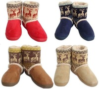 NEW Fashion 2014 Winter Snow Boots Women DEER Ankle Boots For Women Girls