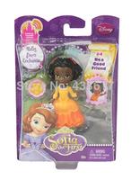 Free Shipping Original Sofia the First Ruby From Enchancia Mini-Doll Series Princess Sofia best friend doll toys dolls for girls