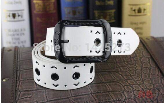 Hollow out belt manufacturers selling ladies fashion joker(China (Mainland))