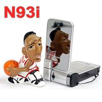 Original Nokia N93i Mobile Phone 3G Unlocked Wifi Refurbished Classic Phone One year warranty