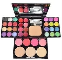 1PCS new hot women makeup sets 24 eye shadow 8 lipstick 4 blusher special price make up palette qualit