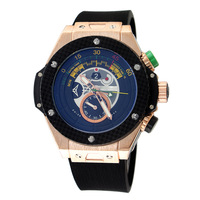 2014 hub new sell World Cup design Brand Fashion rubber Strap lot  Men Automatic Mechanical Watch Self Wind Watch sports watch
