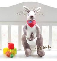 30cm plush kangaroo Australia kangaroo plush toy plush doll birthday gift valentine gift cute toy one piece free shipping