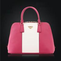 New 2014 Genuine Leather Women Handbag Fashion Bolsas Shell Women Leather Handbag Hot Shoulder Bags Trendy Women Messenger Bags