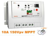 100% Real 10A MPPT Solar Charge Regulators Tracer 1215RN With MT5 Remote Meter, 10amps MPPT Solar Regulator Solar Home System