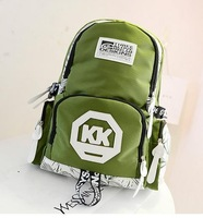 2014 New Cute Girl  Pattern Printing Backpack Traveling Outdoor Pratical Backpacks Unique Fashion nylon Bag BP0345