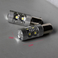 20pcs/lot  Ba15s  1156/1157/3156/3157/7440/7443  1.5w*10smd  High power Led Car Reverse with   low price Free shipping