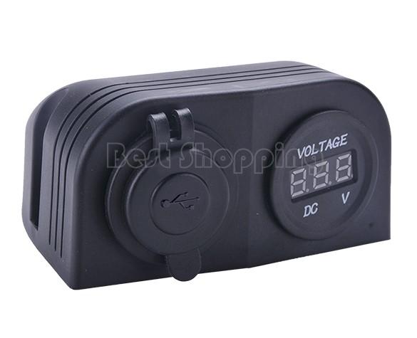 купить Прикуриватель в авто Brand New#B_S 2 1 USB SV05 SV007094 недорого