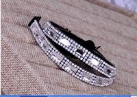 Hot drilling and diamond shoulder strap elastic straps with underwear bra elastic with rhinestones