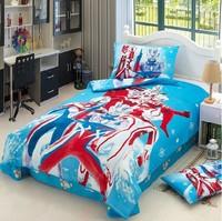 Ultraman kid boys girls duvet cover sheet pillowslips sets single / twin children's bedding sets gift bed linen