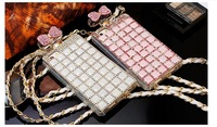 Luxury Phone Cases Diamond Perfume Bottle Style Handbag TPU Cover for Phone 5 5s 4 4s Sumsung S3 s5 s4 note 2 note 3 Case