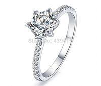 Fashion Elegant Rhinestone Finger Ring