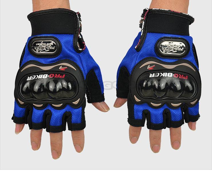 Wholesale New Brand PRO-BIKER Motorcycle motorbike gloves racing half finger gloves luvas motocross guante ...