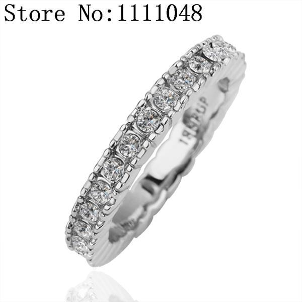 Кольцо для помолвки Special KR156 AntiallergicNew 18 K PlatedRing lacywear крем kr 18 kle