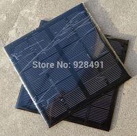 Wholesale 3W 6V Monocrystalline Silicon Solar Panel DIY Solar Module For Solar Power System Small Panels 10pcs/lot Free Shipping
