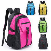 2014 New fashion waterproof Shoulder Bag Backpack Schoolbag Men Nylon Backpacks Travel Hiking Bags Outdoor shoulders laptop bag