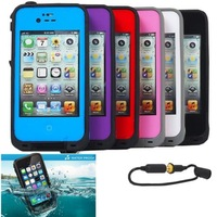 Free shipping Waterproof Shockproof Dirt Proof Cover phone cases For iPhone 5 case 5S High quality NW HOT sale on aliexpress