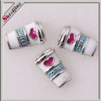 Wholesale Diy Pendants charms  floating locket charms Coffee cup