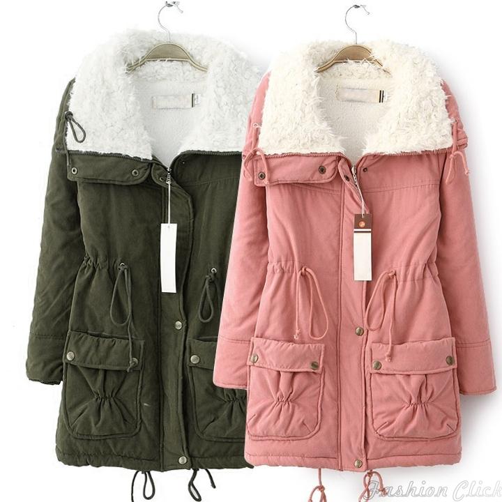 Женские пуховики, Куртки Winter coat women V455