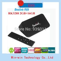 2014 hotsale R89 RK3288 Qaud Core 1.8GHz Andriod 4.4 Mini TV Box 2G/16G WIFI Support 4K Bluetooth 4.0 OTA