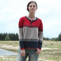 Dongguk door 2014 spring new premium brand ladies cotton sweater XL sweater woman