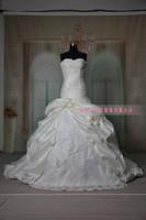 No thanks tutu Qi type mopping upscale silk flowers beaded wedding dress wholesale Princess Bride