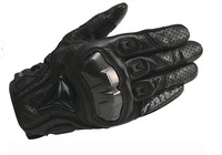 Japan RS - TAICHI RST390 full leather punch carbon fiber racing motorcycle gloves