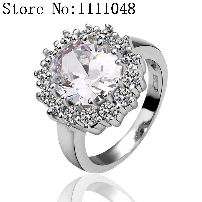 Кольцо для помолвки Special KR028 AntiallergicNew 18 K PlatedRing R027 R028 R029 R030 R033 lacywear крем kr 18 kle
