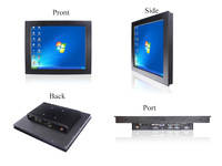 17 inch D2700  Industrial Panel PC  Touch screen  all in one panel pc   6com