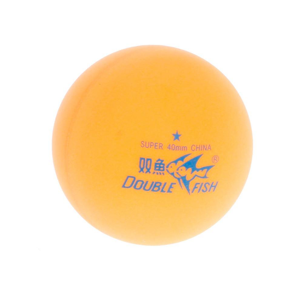 Double Fish Professional Training Table Tennis Balls - Orange (6 PCS)(China (Mainland))