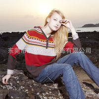 2013 women's sweaters 11-362Q new retro autumn ladies sweater knitted sweater production and processing