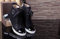 3 colors 2014 new increase internal women shoes casual wedge canvas shoes lace up brand designer women's pumps black khaki shoes