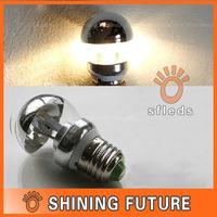 220V 3W E14/E27 Screw mouth reflective LED shadowless lamp bulb warm light bulb