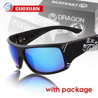 2014New Hot Brand Dragon Sunglasses Men VANTAGE Style Sun Glasses Women Sport Outdoors Coating Sunglass oculos with Original Box