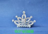 2014 New Fashion Wedding Bridal Crystal Rhinestone Crown Headband Jewelry Tiara Hair Comb Clip G006