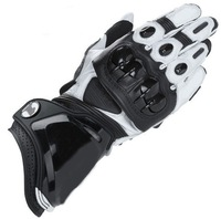 Warm racing gloves GP - Pro level wildly popular leather motorcycle gloves Wind from genuine leather