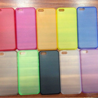 Hard Matte Transparent Protective Ultra Thin  Frosted Pure Color 4.7 inch High Quality  Case for iPhone 6  Skin Cover (PG011)