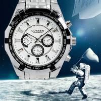 CURREN 2014 Watches Men Luxury Brand Men Sports Watches Men's Analog Quartz Watch Fashion Casual Watch men full steel Relogio
