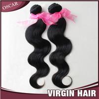 Big Sale New Star Virgin Brazilian Hair Body Wave 60g/pc Natural Black Color Cheap Human Hair Extensions Free Shipping