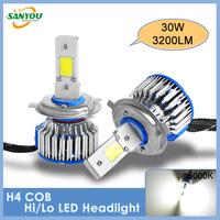 Factory Sale Cob Auto LED Headlamps/Auto LED Headlight/Auto Headlamps/Auto Headlight/LED Headlamps/LED Headlight H4 Hi/Lo Beam