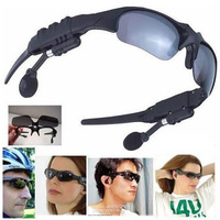 Updated Sports Wireless Bluetooth Sunglasses Headset Music Handsfree Headphone for Cell Phone PC