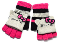 Winther Hotsale Hello Kitty 2~8 Years Children's Warm Gloves