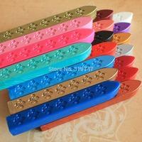 Free Shipping Wholesale 9*1.1*1cm Retro Sealing Wax (without core), Strip Wax, Wax Seal Special Wax  6pcs/lot  074004032