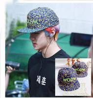 Korea EXO hat with  wolf M Benn baseball cap hip-hop