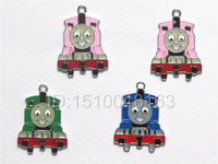 Free Shipping The Cartoon Train Key Figures DIY Metal Charms Pendants  Jewelry