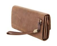Vintage handbags crazy horse leather hand bag men bags super multifunction manufacturers men wallets card holder 8049 2015 NEW