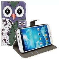 Original Genuine Leather Stand Cover For Samsung Galaxy S4 i9500 Case With Cash Card Holder