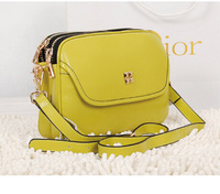 Free shipping Princess wind shoulder - hand leather bag