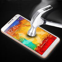 New 0.3mm 2.5D 9H Proof Tempered Glass Screen Protector Film Cover & Free Cloth For Samsung Galaxy Note 4 + Retail Package