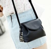 Free shipping new 2014 summer fashion women handbags European and American punk style women messenger bags shoulder bags